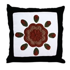 Quilting Pattern Throw Pillow