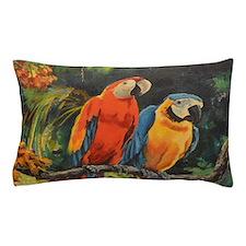 Parrots Pillow Case