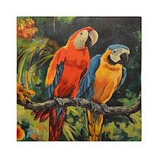 Parrots Queen Duvet