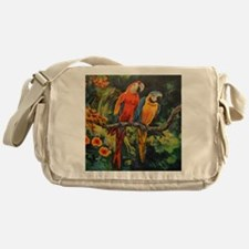 Parrots Messenger Bag