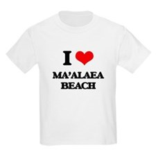 I Love Ma'Alaea Beach T-Shirt
