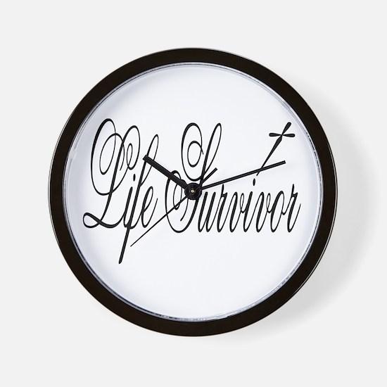 Life Survivor Wall Clock