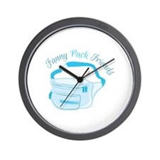 Fanny_Pack_Fanny_Pack_Friends Wall Clock