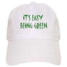 It's easy being green Baseball Cap