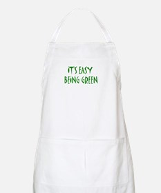 It's easy being green Apron