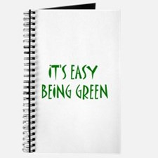 It's easy being green Journal