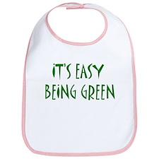 It's easy being green Bib
