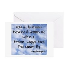 Unique Langston hughes Greeting Cards (Pk of 10)