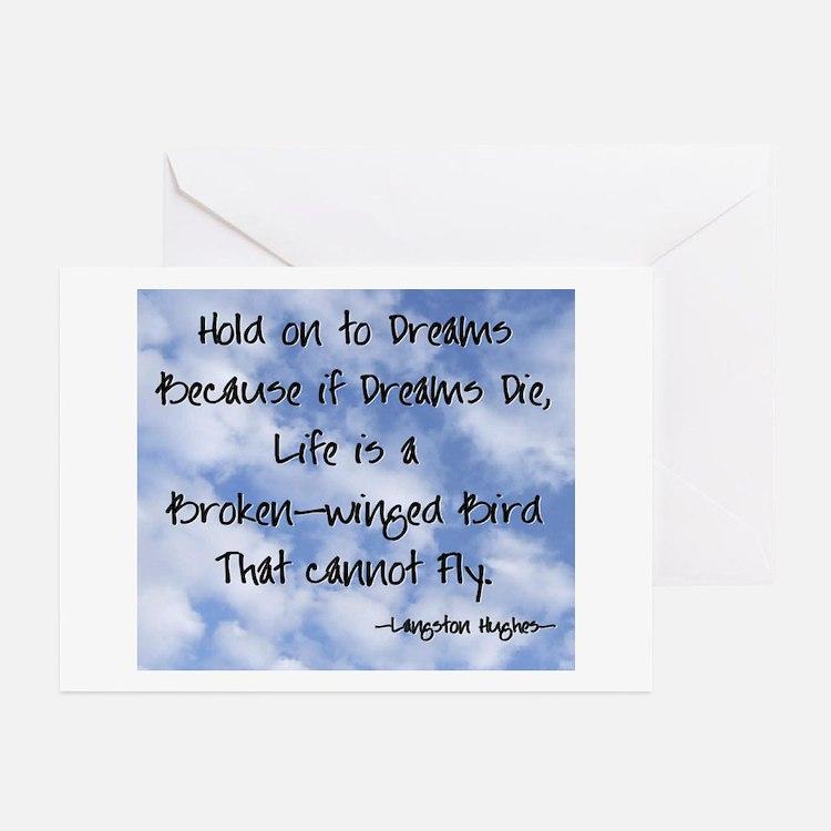 Cute Poetry dreams Greeting Cards (Pk of 10)