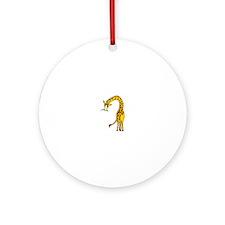 GIRAFFE Ornament (Round)