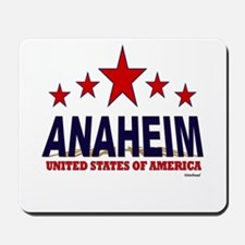 Anaheim U.S.A. Mousepad