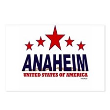 Anaheim U.S.A. Postcards (Package of 8)