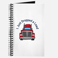 JUST DROPPED A LOAD Journal