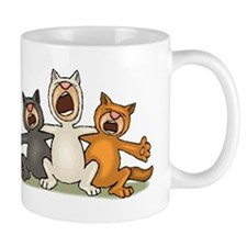 Cat Choir Mugs