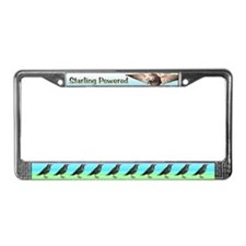 Starling Power License Plate Frame