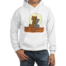 Cats On Fence Hoodie