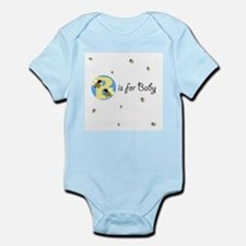 Cute Bumble bee baby shower Infant Bodysuit