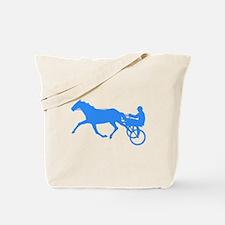 Blue Harness Racing Tote Bag