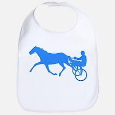 Blue Harness Racing Bib