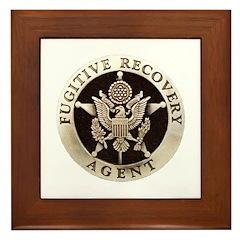 Fugitive Recovery Agent Framed Tile