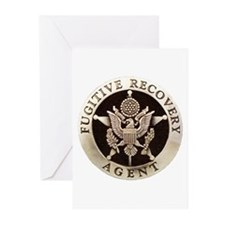 Fugitive Recovery Agent Greeting Cards (Package of