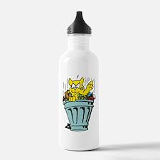 Garbage Cat Water Bottle