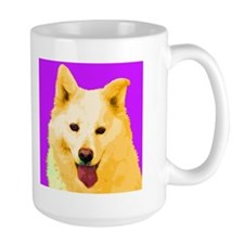 Trooper the Samoyed Mug