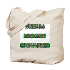 Wild About Books Tote Bag