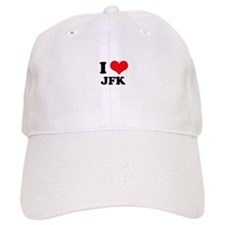 I Love JFK Baseball Cap