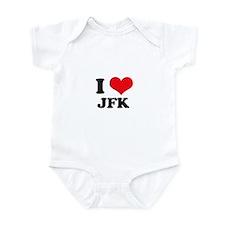 I Love JFK Infant Bodysuit