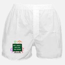 Kids + Books Boxer Shorts