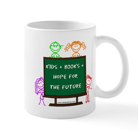 Kids + Books Mug