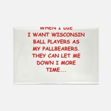 wisconsin sports Magnets