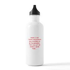 wisconsin sports Water Bottle