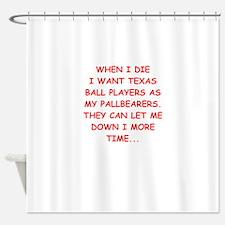 texas sports Shower Curtain