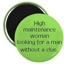 High Maintenance Woman Magnet