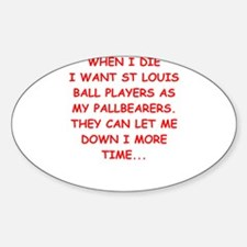 st louis sports Decal