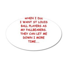 st louis sports Wall Decal