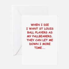 st louis sports Greeting Cards