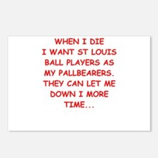 st louis sports Postcards (Package of 8)