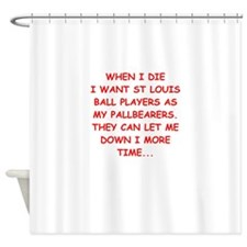 st louis sports Shower Curtain