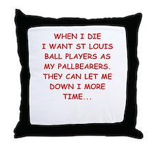 st louis sports Throw Pillow
