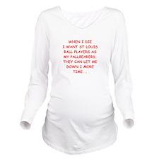 st louis sports Long Sleeve Maternity T-Shirt