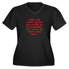 seattle sports jokes Plus Size T-Shirt