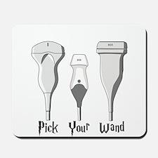 Pick Your Wand Design #1 (light Mousepad