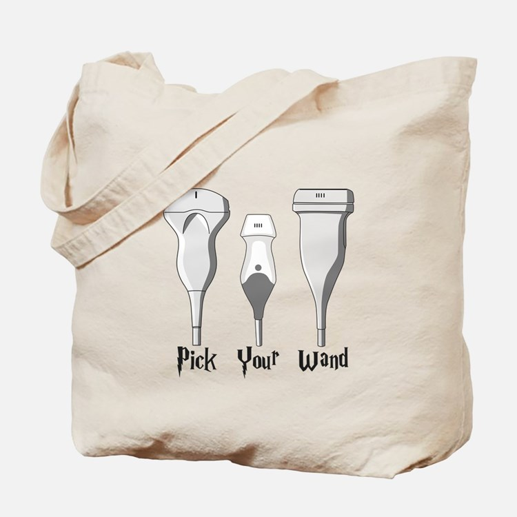 Pick Your Wand Design #1 (light Tote Bag