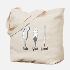 Pick Your Wand Design #2 (light Tote Bag