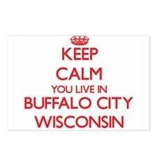 Keep calm you live in Buf Postcards (Package of 8)