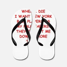 new york sports Flip Flops
