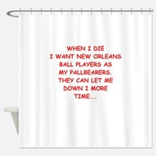 new orleans sports Shower Curtain